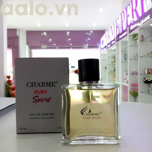 NƯỚC HOA CHARME RUBY SPORT 50ml - Cho Nam