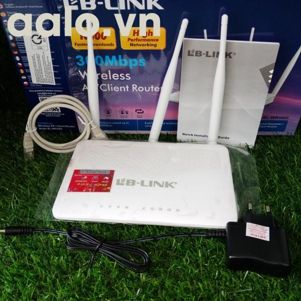 Bộ phát sóng wifi LB-Link 3 râu BL-WR3000