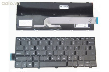 Bàn phím Laptop Dell  3441, 3442, 3443, Vostro 14-3000 (14-3446D-1328R)(14-3446D-1328B). - Keyboard Dell