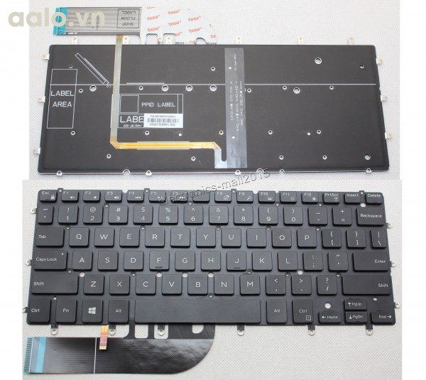 Bàn phím Laptop Dell INSPIRON 13 7347 7348 7352 - Keyboard Dell