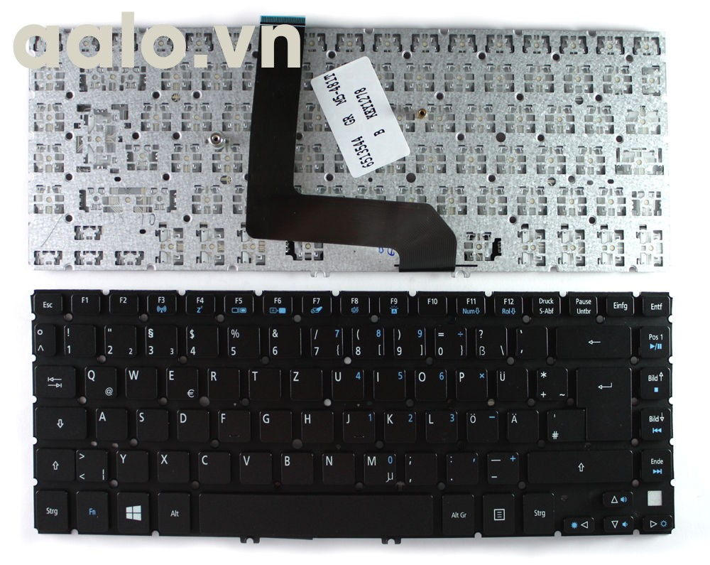 Bàn phím Laptop Acer Aspire M3-481