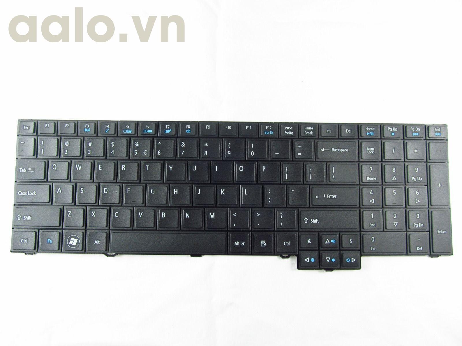 Bàn phím Laptop Acer TravelMate 7750Z