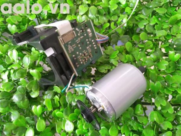 Mô tơ và vỉ điều điều khiển mô tơ Máy in laser Canon MF3010