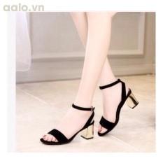 Giày nữ cao gót 7 phân gót vuông - nâng vẻ đẹp của bạn