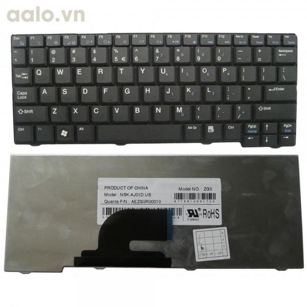 Bàn phím Laptop Acer One A110, A150, D150, D250 đen - Keyboard Acer
