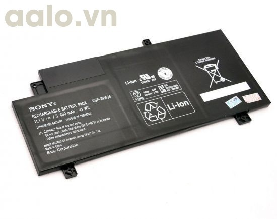 Pin Laptop Sony BPS34 B13BPS34 - Battery Sony