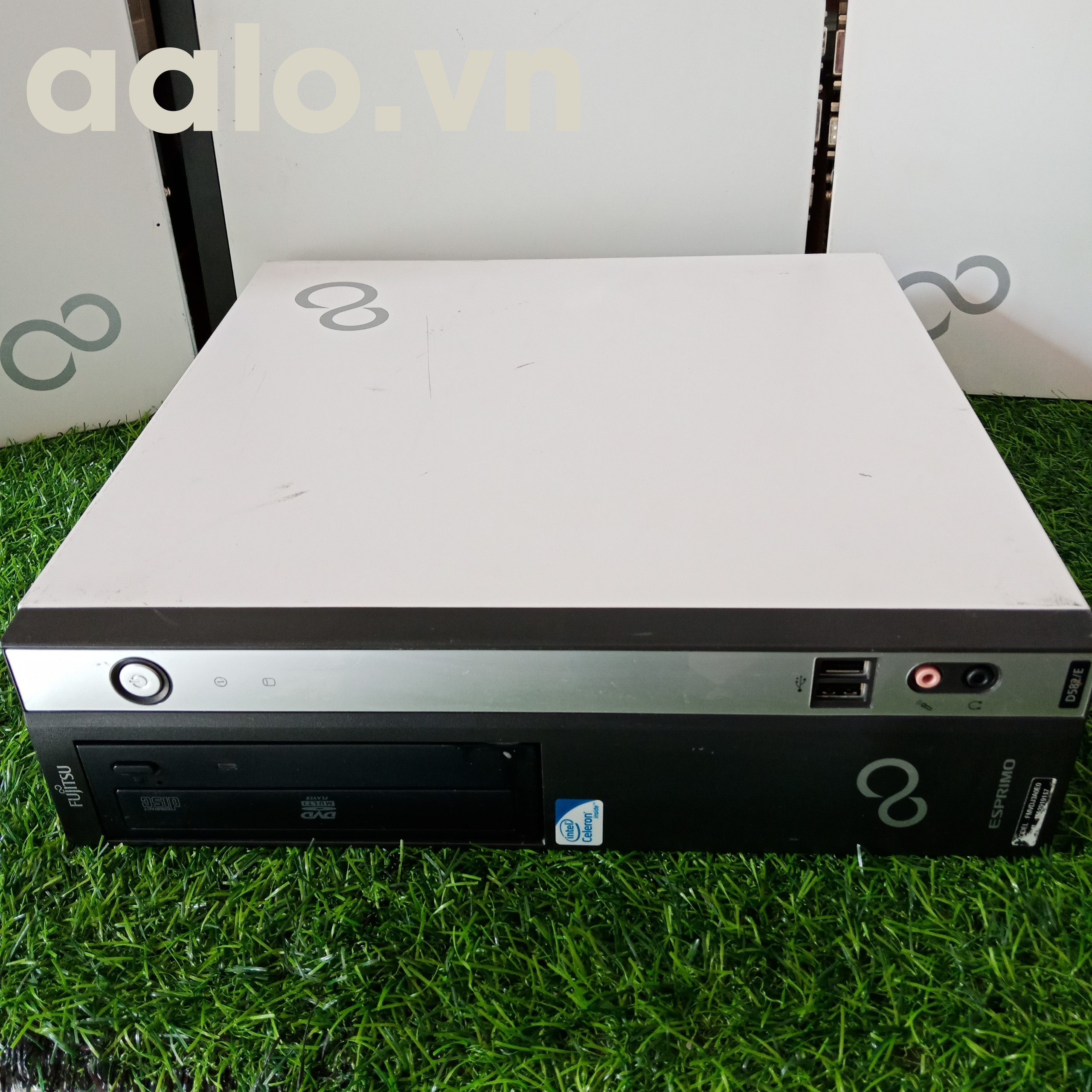 Máy tính đồng bộ Fujitsu Esprimo D582 Mainboard H77, CPU Intel G2010 ram DDR3 2G, ổ cứng 250G (cũ)