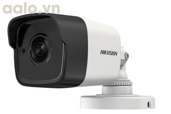 Camera / DS-2CE16H0T-ITPF /  HD-TVI  thân trụ hồng ngoại 20m ngoài trời 5MP - vỏ nhựa