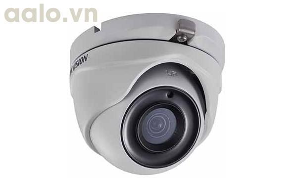 Camera / DS-2CE56H0T-IT3F /  HD-TVI  bán cầu hồng ngoại 40m ngoài trời 5MP