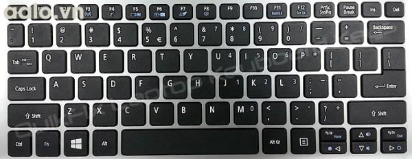 Bàn phím Laptop Acer V3-171 V3-371 V5-122 ES1-111 ES1-111M ES1-311 ES1-331 đen - Keyboard Acer