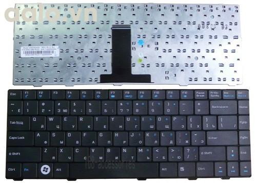 Bàn phím laptop Asus X44H, X44HY, X43, X43S, X43J, A83S - Keyboard Asus