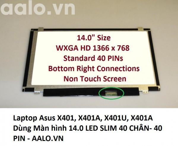 Màn Hình laptop Asus X401, X401A, X401U, X401A