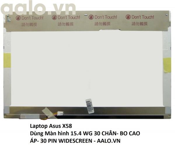Màn hình laptop Asus X58