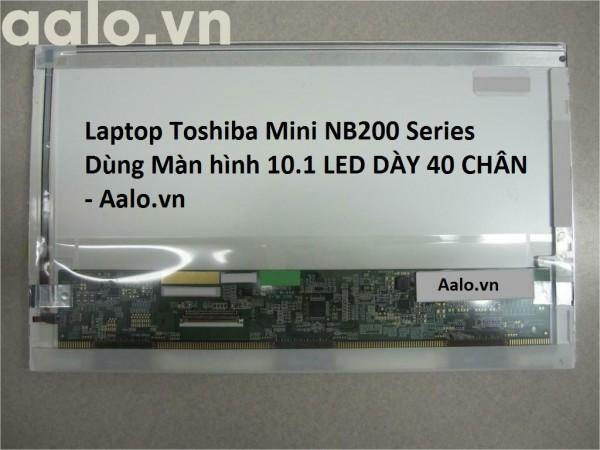 Màn hình Laptop Toshiba Mini NB200 Series