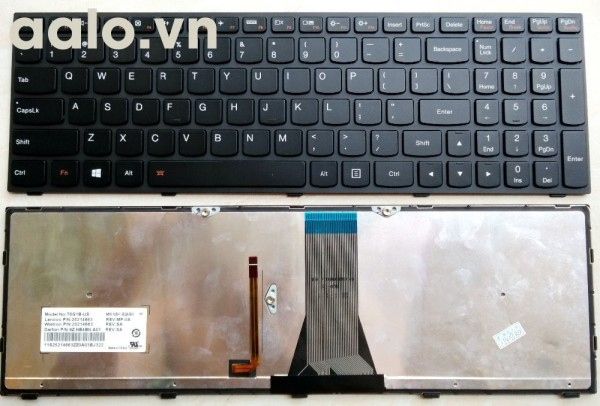 Bàn phím Lenovo  G500s G505s G510s S500 S510 S510s Z510 - Keyboard Lenovo