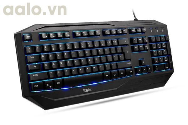 Bàn phím game thủ Fuhlen LED G450s