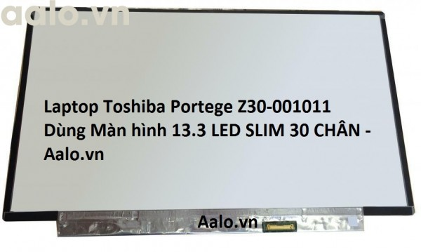Màn hình Laptop Toshiba Portege Z30-001011
