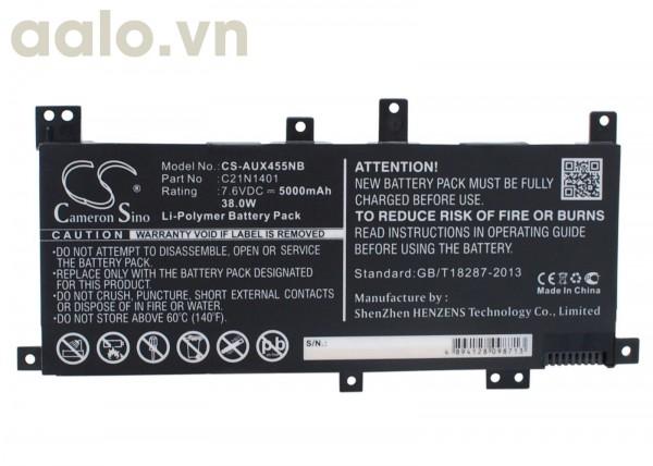 Pin Laptop Asus F455L F455LD X455LA X455LD X455LF X455LJ K455L - Battery Asus