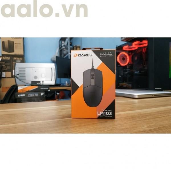 Chuột Có Dây DAREU LM103 (Cổng USB)-aalo.vn