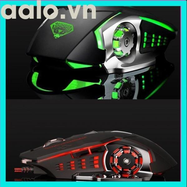 Chuột chuyên dụng cho Game 6D DIVIPARD G502 Led đa màu DPI 3200 - phiên bản Silent-aalo.vn