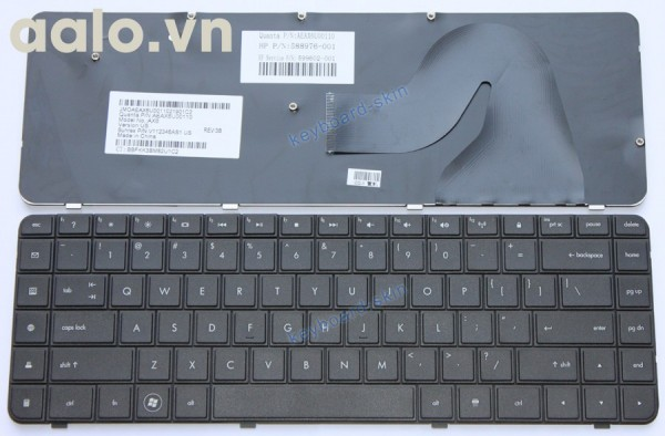 Bàn phím laptop HP CQ56 CQ62 G62 G56 - keyboard HP