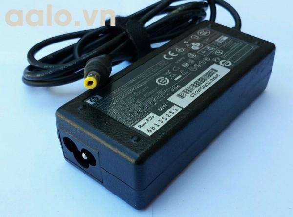 Sạc pin laptop Hp 18.5V - 3.5A  chân vàng  - Adapter HP