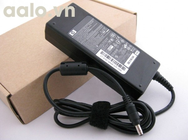 Sạc pin laptop Hp 19V - 4.62A  chân đạn nhỏ - Adapter HP