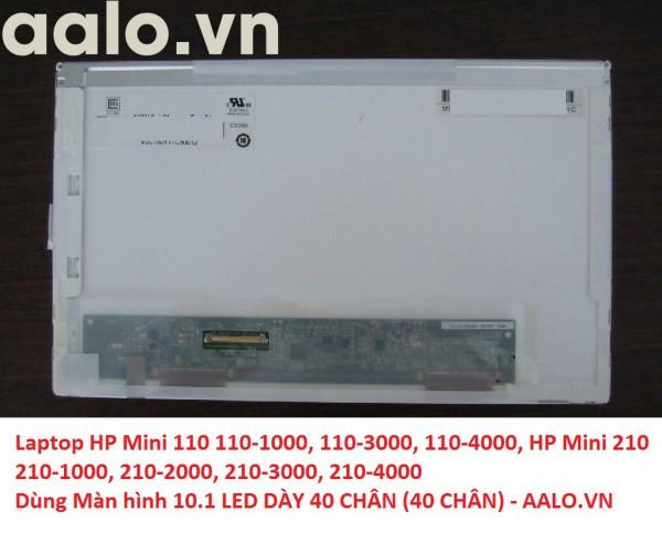 Màn hình laptop HP Mini 110 110-1000, 110-3000, 110-4000, HP Mini 210 210-1000, 210-2000, 210-3000, 210-4000