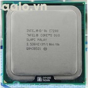 Bộ xử lý Intel® Core™2 Duo E7200