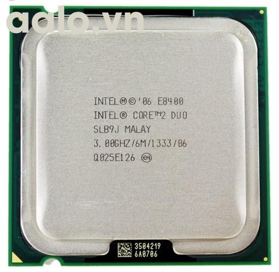 Bộ xử lý Intel® Core™2 Duo E8400