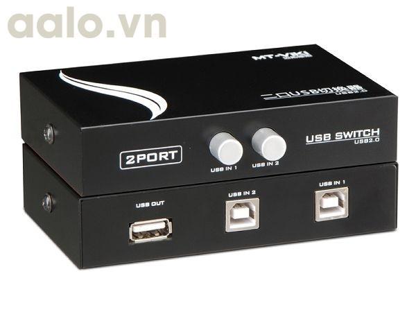 Bộ chia máy in từ 1 ra 2 Switch USB MT-VIK