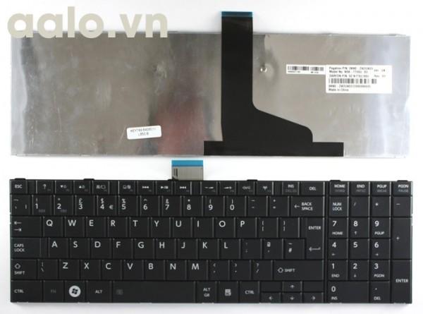Bàn phím laptop TOSHIBA C850 Black ,C855, L850, L855 - Keyboard TOSHIBA