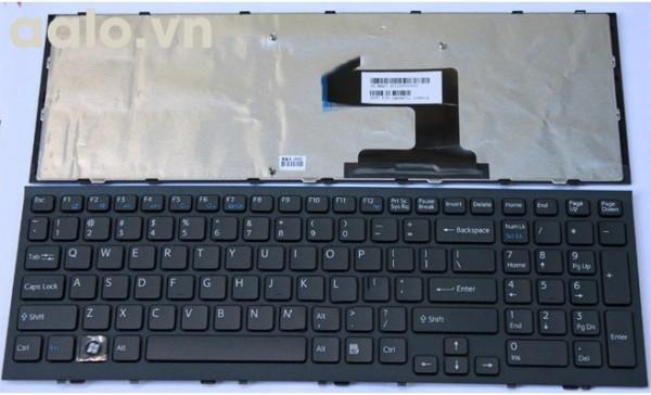 Bàn phím laptop Sony EL đen - Keyboard Sony