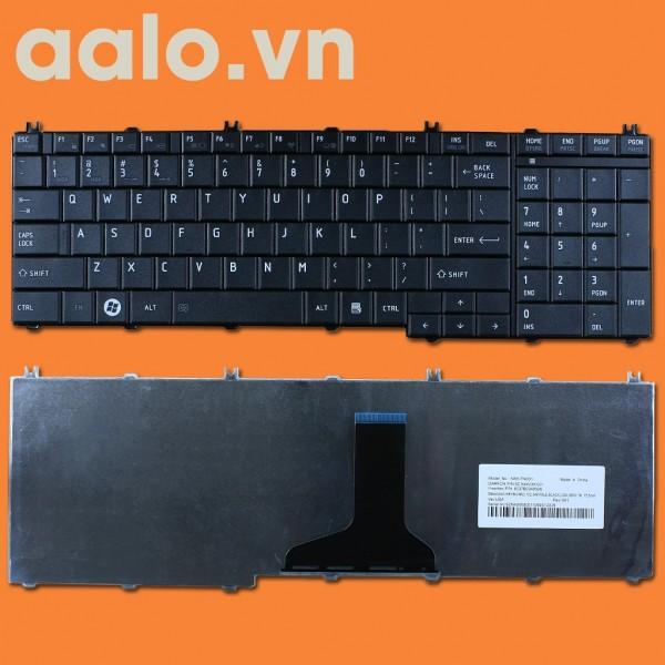 Bàn phím laptop TOSHIBA C650, C655, C660, L650, L655, L670, L750, L770 - Keyboard TOSHIBA