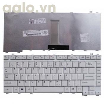 Bàn phím laptop TOSHIBA M200 A200, A300, A305, M300, M500 trắng - Keyboard TOSHIBA