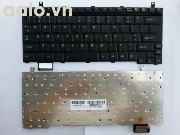 Bàn phím laptop TOSHIBA U200 U205 - Keyboard TOSHIBA