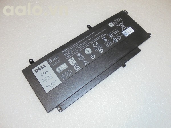 Pin Laptop Del15 7547 43Wh 3840mAh 11.1V Battery D2VF9 PXR51- Battery Dell