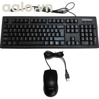 Bộ bàn phím chuột có dây Ensoho E-103CB