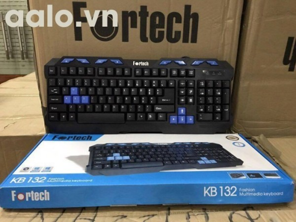 Bàn phím máy tính Fortech K132