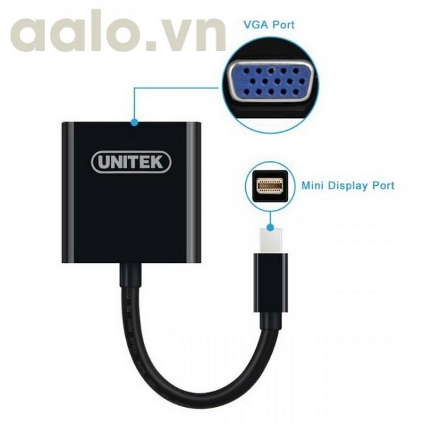 Dây mini Display port ra VGA dài 20Cm ( dùng cho Macbook)