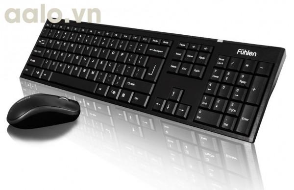 Bộ bàn phím + chuột không dây Fuhlen A120 ( chính hãng )