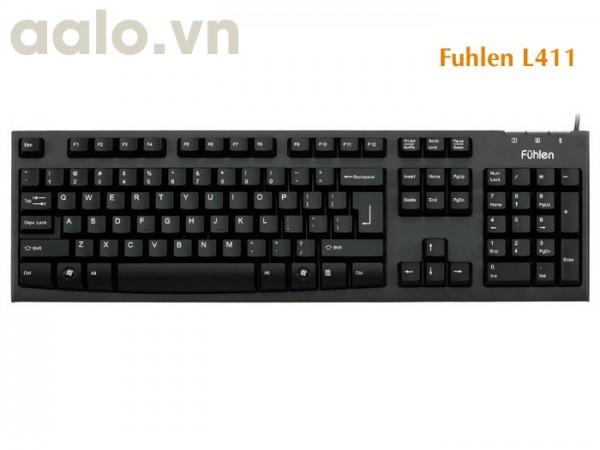 Bàn phím Fuhlen L411 USB Gaming ( chính hãng )