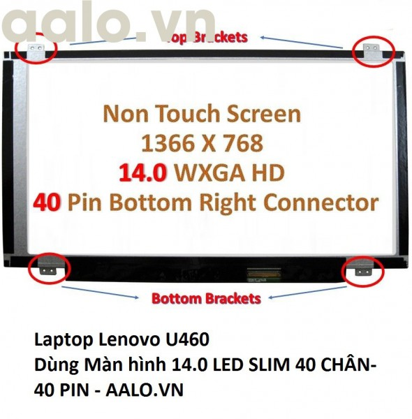 Màn hình laptop Lenovo U460