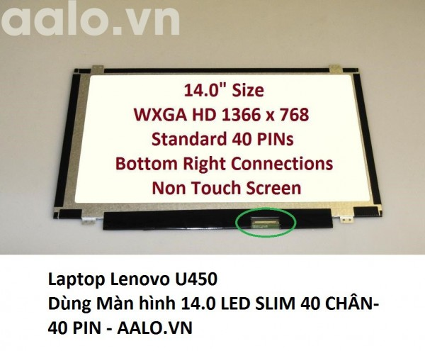Màn hình laptop Lenovo U450