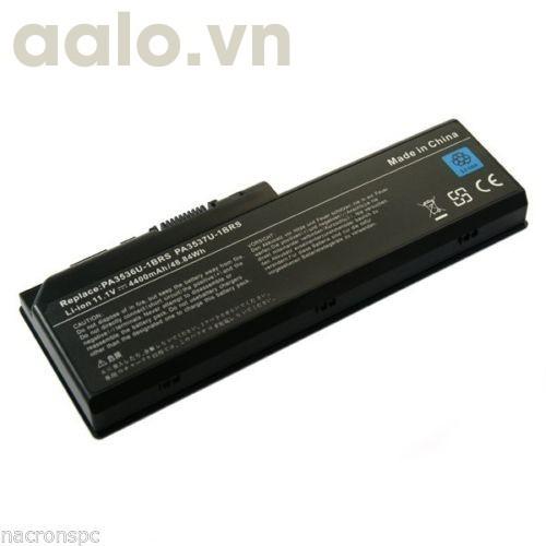 Pin Laptop ToshibaBATTERY PA3536U Toshiba P200 P205 P300 Equium L350D-11D Satellite L355 4400 mAh- Battery Toshiba