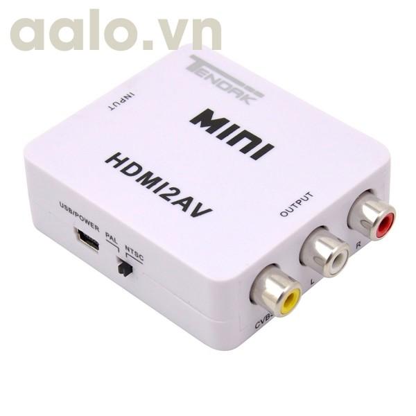 Bộ chuyển HDMI ra AV ( Video )