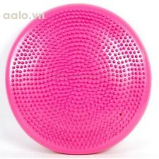 Yoga Exercise Pilates Massage Balance Cushion Gym Fitness Ball Thickening Riot - intl